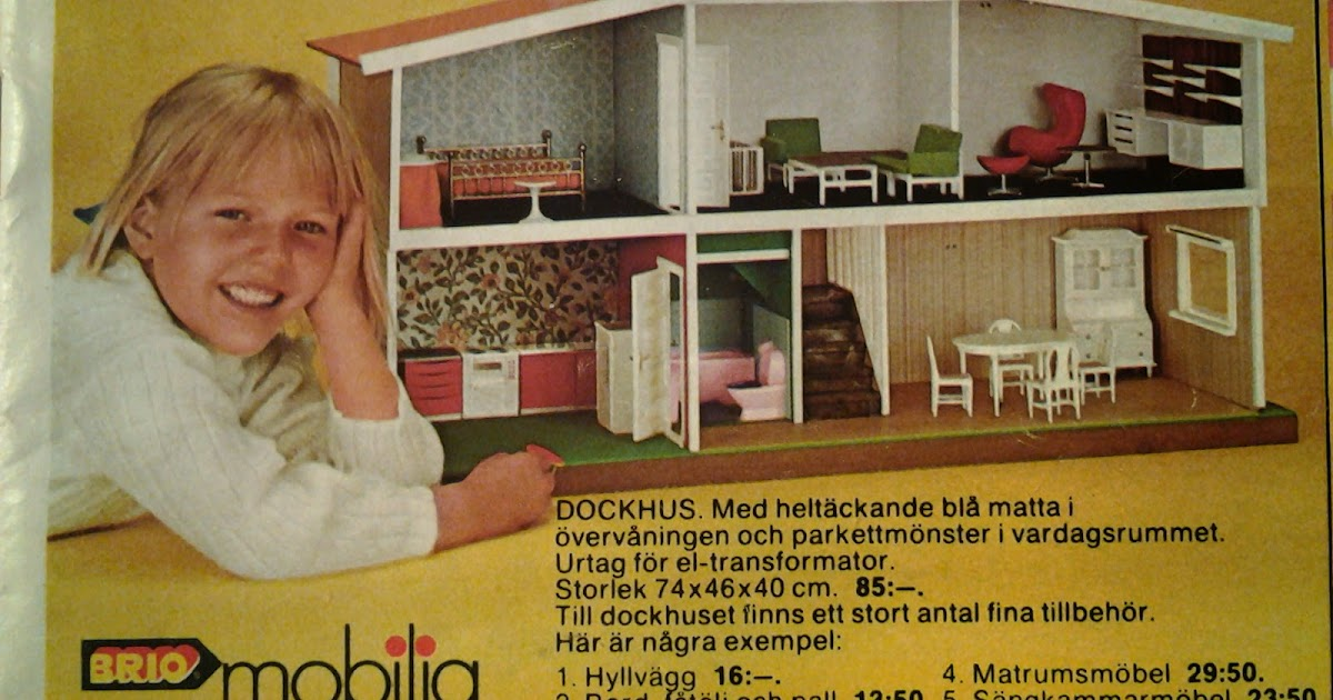 Majas Docksk P Brio Mobilia Fr N 1974