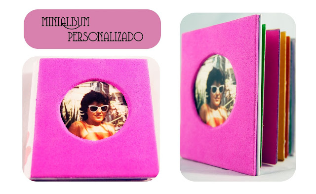 minialbum scrapbooking personalizado