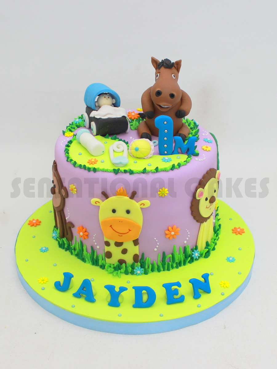 Horse Themed Birthday Cake Singapore