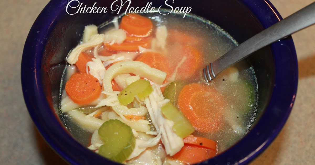 Polka-Dotty Place: Tuesday Talk: The Perfect Chicken Noodle Soup