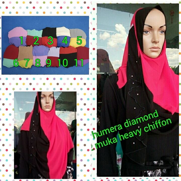 SHAWL HUMERA DIAMOND