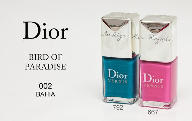 Dior bird of paradise summer