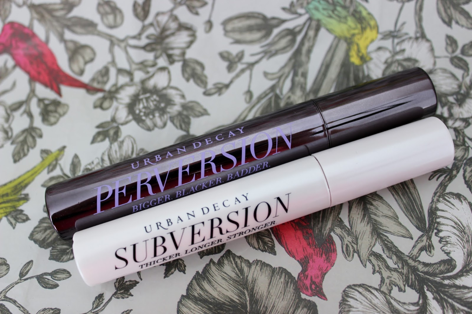 Urban Decay Perversion mascara and Subversion lash primer