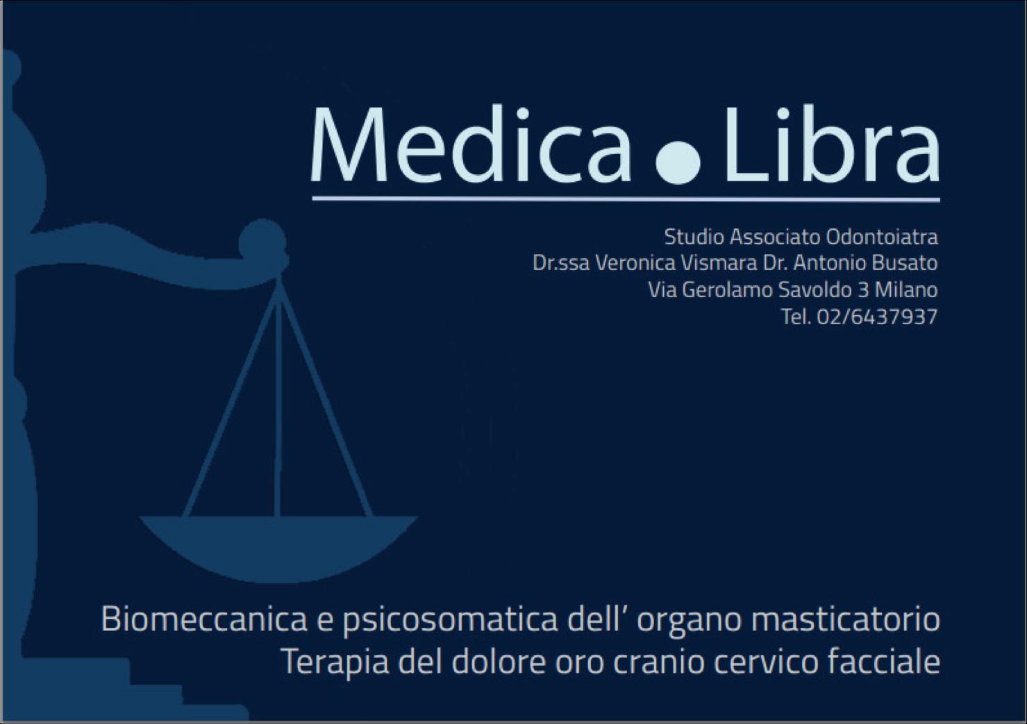 Medica-Libra biomeccanica e psicosomatica dell'organo masticatorio