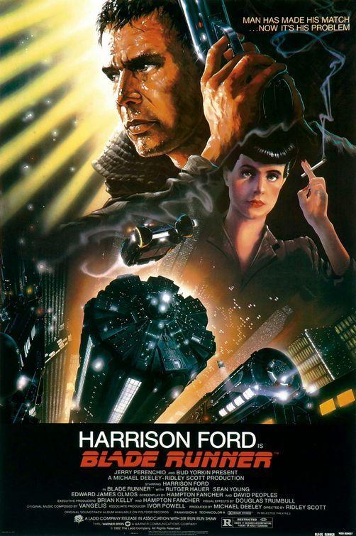 Filme Poster  Blade Runner : O Caçador de Andróides DVDRip XviD Dublado