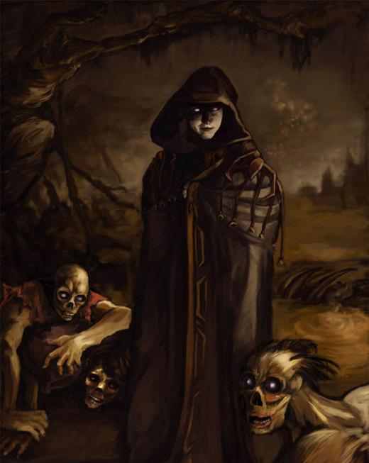 """Necromancer"" by Nicole A. Cardiff por Nicole A. Cardiff"