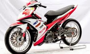 Modifikasi Yamaha Jupiter MX Body Road Race