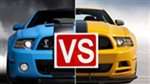 2014 Ford Mustang Shelby GT500 vs 2013 Boss 302 Road test Video Compare