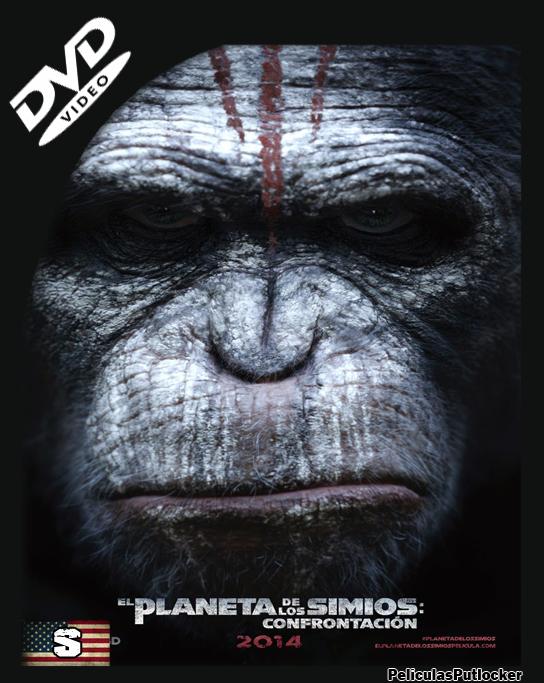El Planeta De Los Simios: Confrontación [DVDRip][Subtitulado][SD-MG-1F]