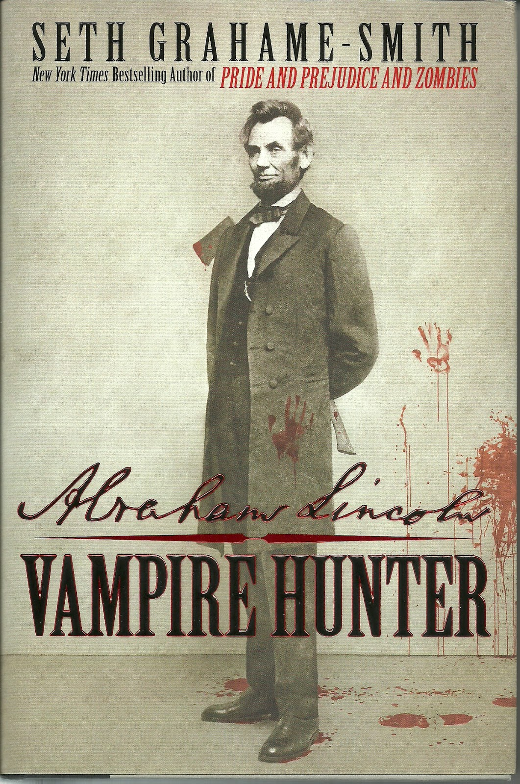 an analysis of the book abraham lincoln vampire hunter by seth grahame smith Highly relevant for abraham lincoln vampire hunter when one con- siders the fact that the film is based on the seth grahame-smith novel with the same title and the history of his literary production.