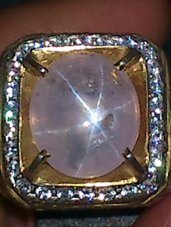 milky star sapphire