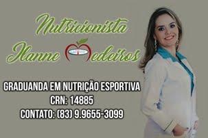 Nutricionista Drª Ilanne Medeiros