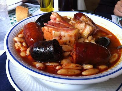 Casa Olvido, Ceceda. Fabada Asturiana