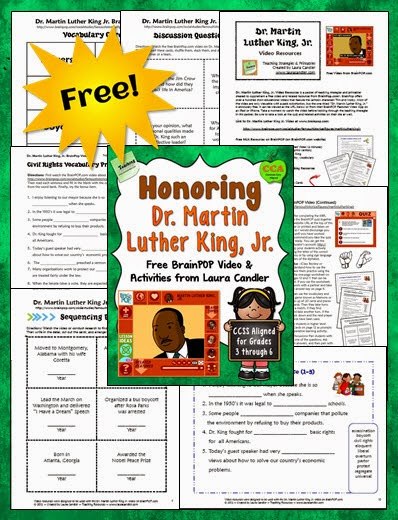 Corkboard Connections Honoring Dr Martin Luther King Jr