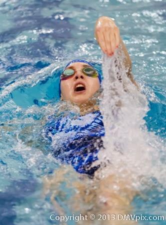 Falls Church Washington Lee Swim Dive 6 Dec 2013