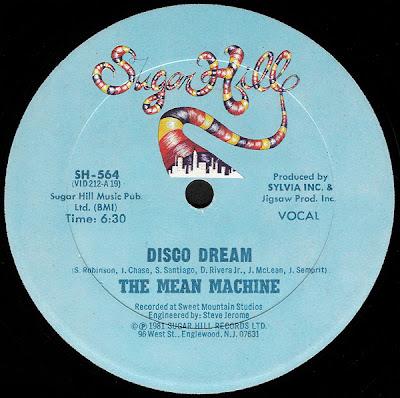 Mean Machine – Disco Dream (1981, 256, 12'')