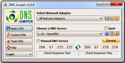 How to Change DNS Settings Using DNS Jumper