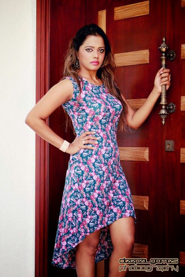 Chandi Anupama short dress