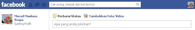 """Facebook: """"Apa Yang Anda Pikirkan?"""""""