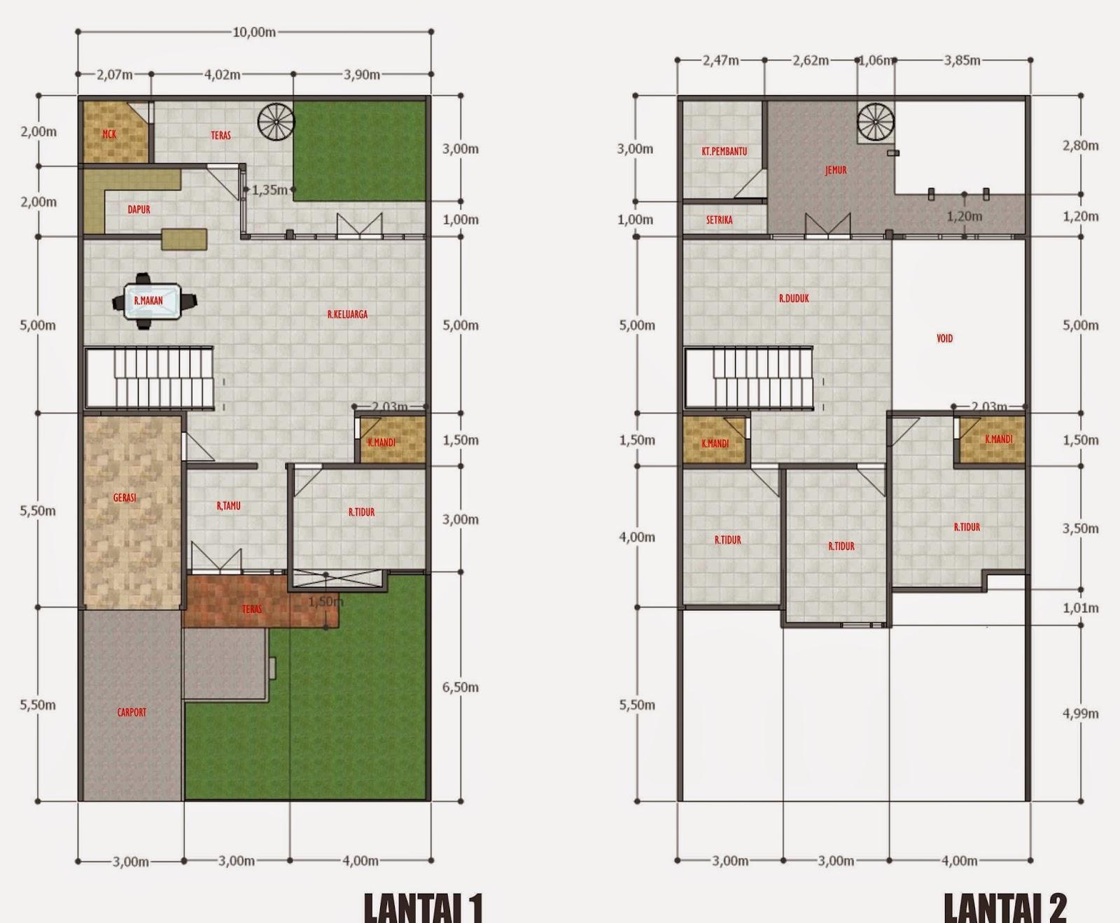 Desain Rumah Minimalis 1 Lantai 10 X 20 Gambar Foto Desain Rumah
