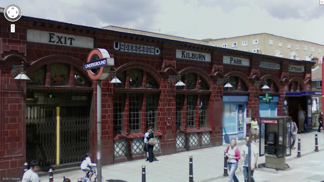 Kilburn Park station on the Bakerloo line of the London Underground