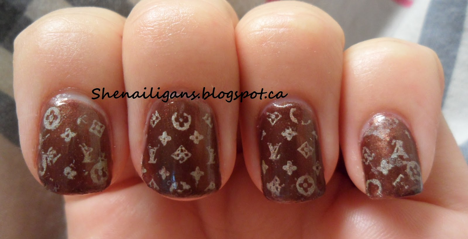 ❤Shenailigans ❤: My First Attempt at Nail Stamping- Awesome Louis ...