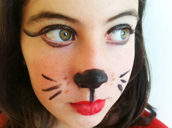 Pintura de cara para ni os de gato imagui - Pinturas de cara para ninos ...