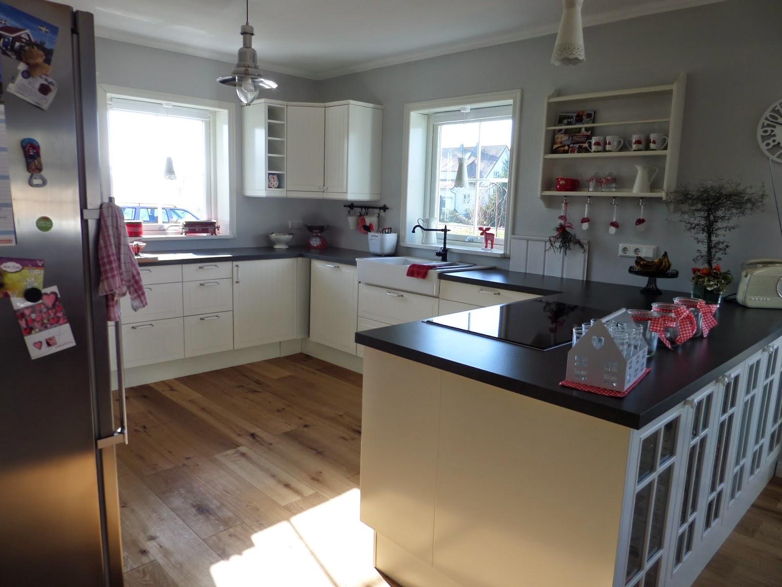 Schwedenhaus küche  Kleine Lotta ~ Unser Schwedenhaus: Wohnen, Essen und die Küche