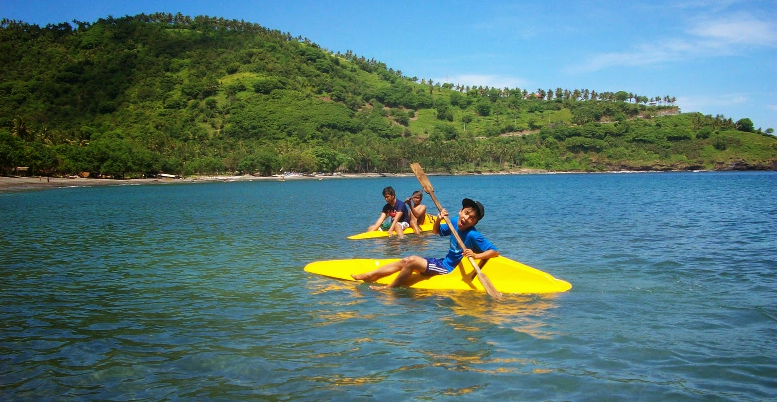 Senggigi Beach Pantai Indah di Lombok