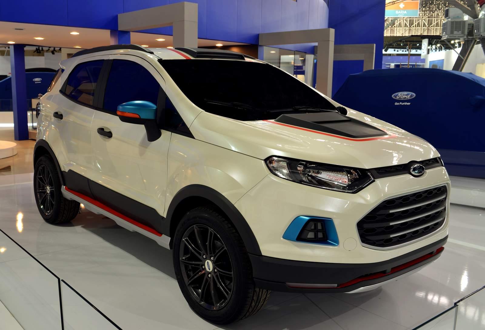 Ford EcoSport Storn, Beauty e Beast são mostradas em SP ...