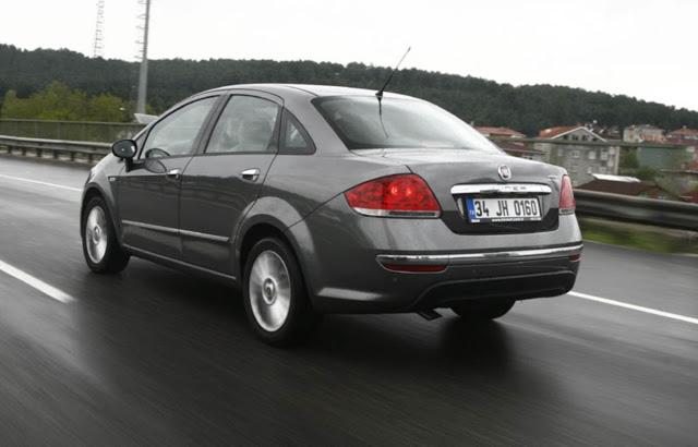 novo Fiat Linea 2014 traseira