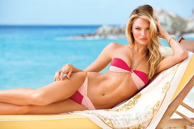Candice Swanepoel sexy Victorias Secret bikini photoshoot