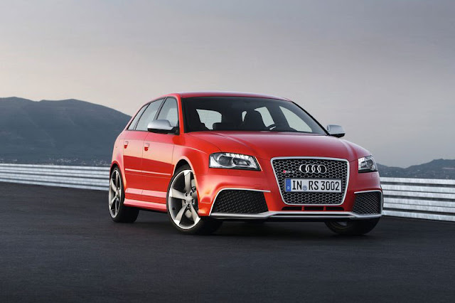 2012 Audi RS3 Sportback Red Exterior