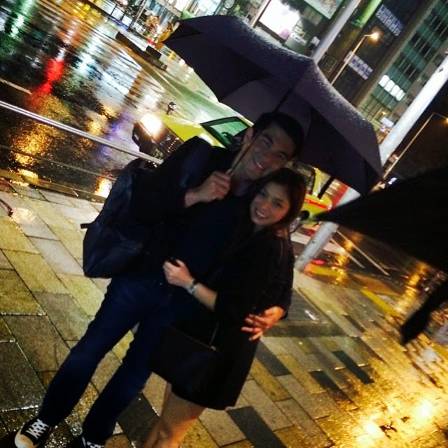 Photos: Angel Locsin and Luis Manzano sweet in Japan