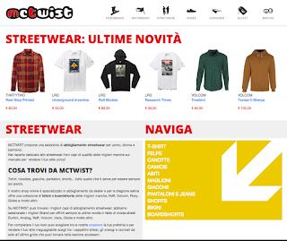 MCTWIST.it il nuovo ecommerce per gli amanti dello snowboard e dello streetstyle.