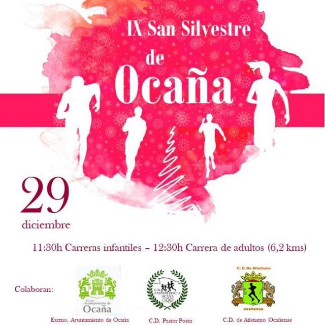 INSCRIPCIÓN IX SAN SILVESTRE DE OCAÑA