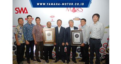 Yamaha Mio dan V-ixion Raih Indonesia Best Brand Award