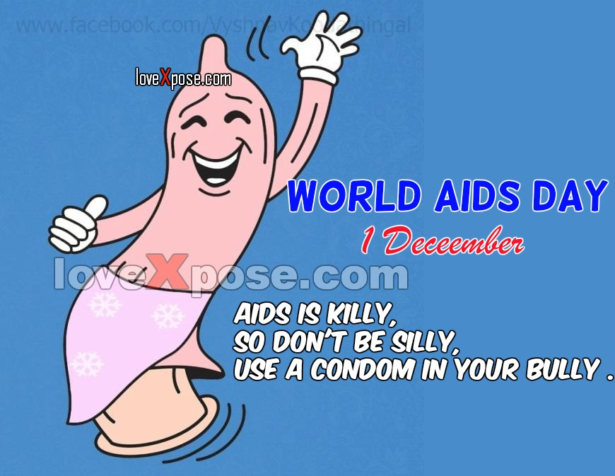 Funny World Aids Day vinod jokes