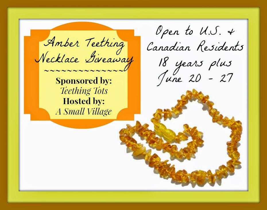 Teething Tots Amber Necklace Giveaway