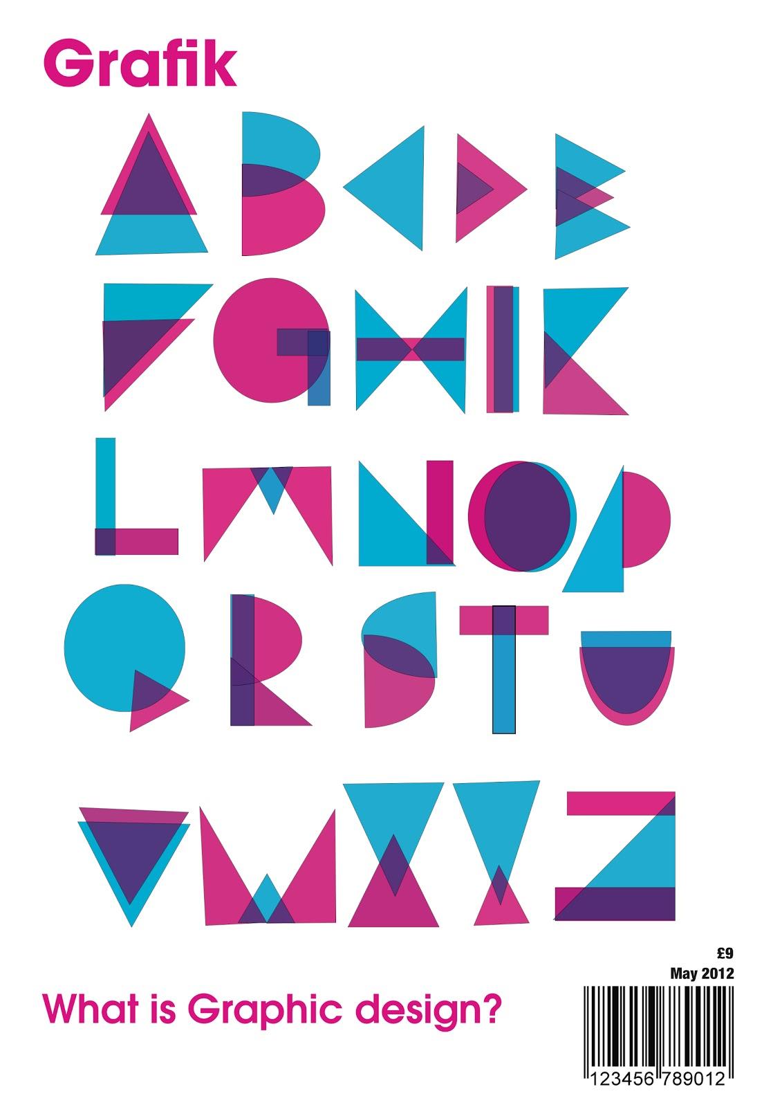 Grafik magazine graphic design for Grafik designer