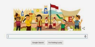 Google Rayakan Hari Kemerdekaan Indonesia Ke-69