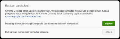 Mengendalikan Komputer via Chrome Remote Desktop