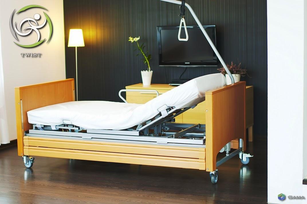 łóżka Rehabilitacyjne Obrotowe łóżko Rehabilitacyjne Twist