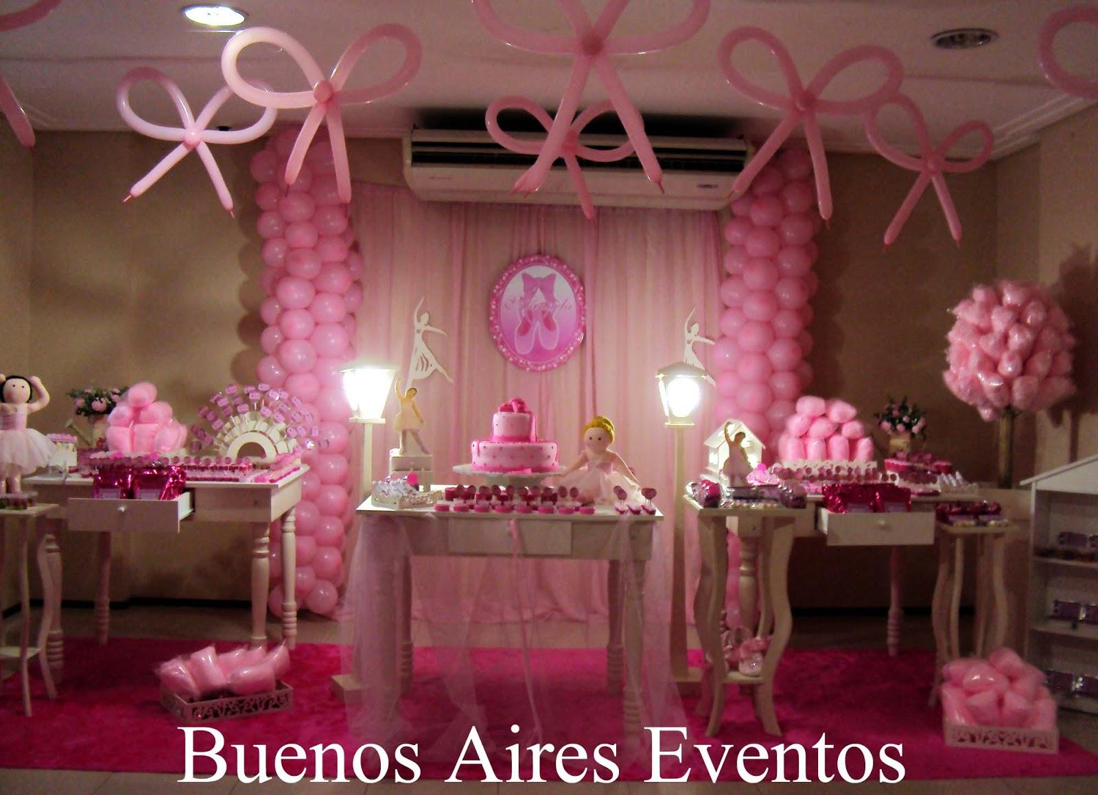 Buenos Aires Eventos Os quatro aninhos da bailarina Manuela