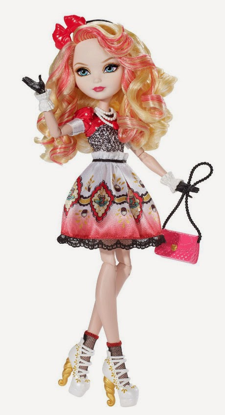 TOYS : JUGUETES - EVER AFTER HIGH Hat-tastic Party - Muñeca Apple White