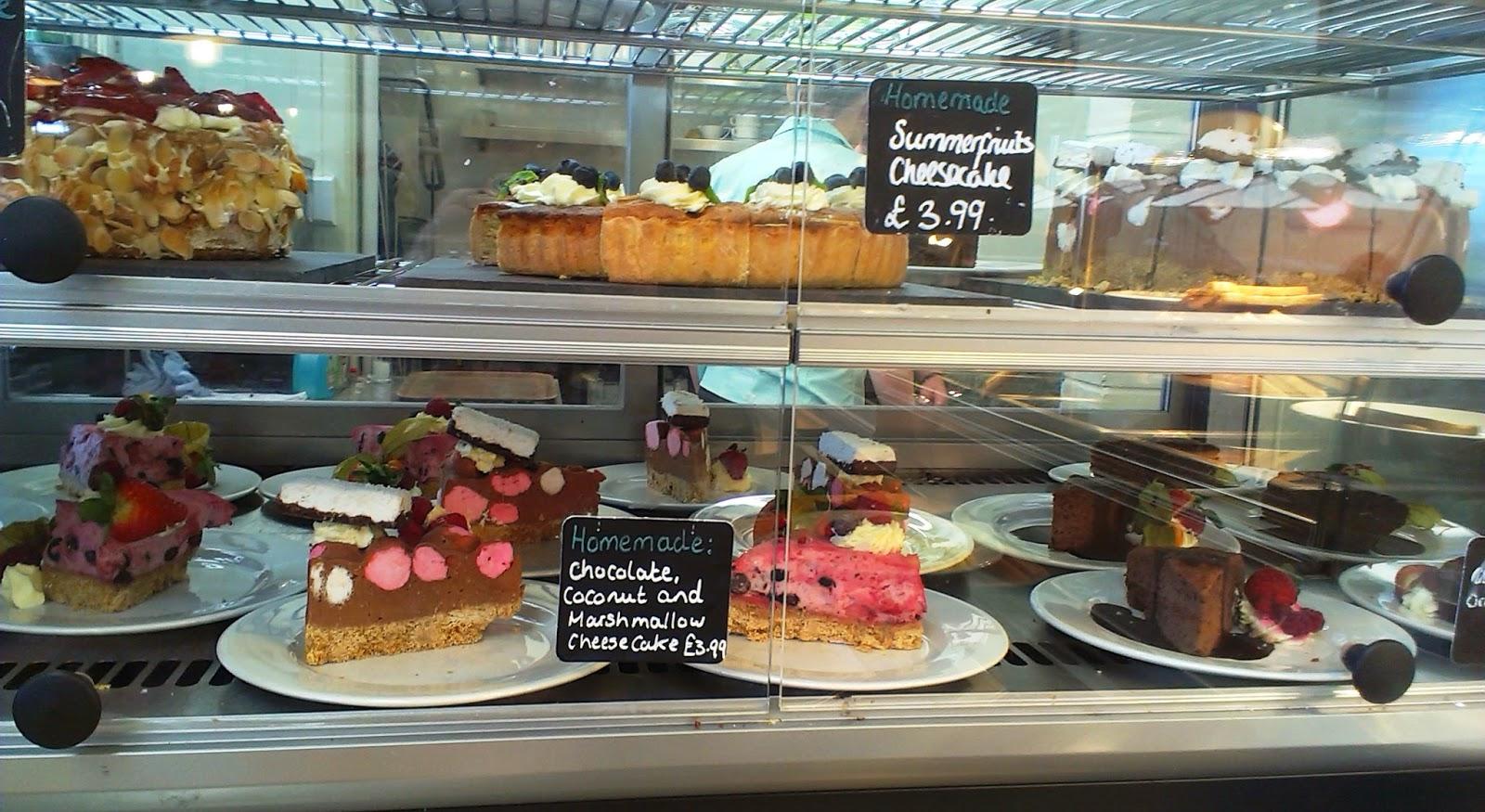 Whitehall Garden Centre Cafe Cakes