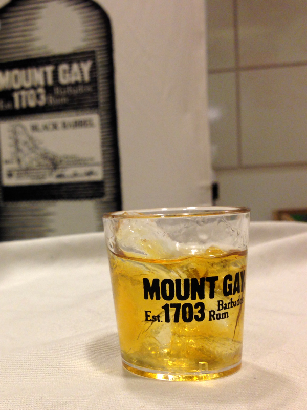 Mount Gay Barrel Rum | a review of Animate Your Night: Choose Your Own Adventureland at The Walt Disney Family Museum