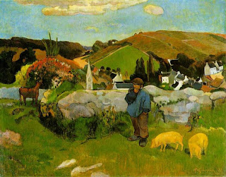 Swineherd - Paul Gauguin