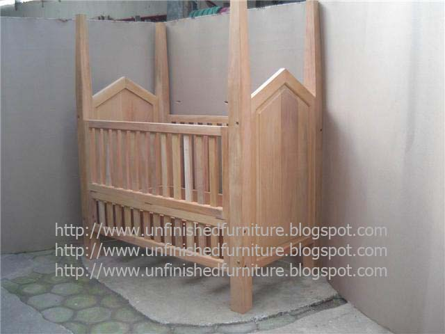 Unfinished Wood Baby Furniture