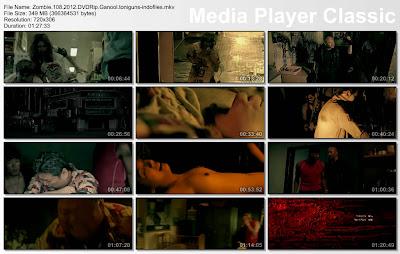 Zombie 108 (2012) DVDRip 350MB